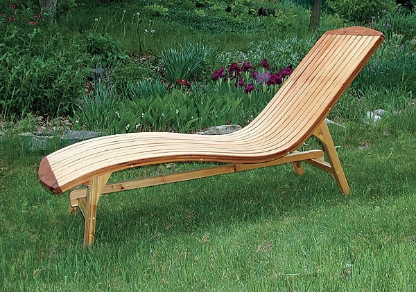 Folding Chaise Lounges Intended For Widely Used Folding Chaise Lounge – Finewoodworking (View 8 of 15)