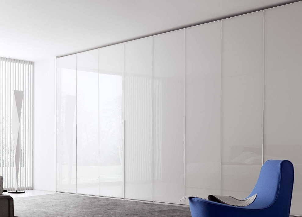 Folding Door Wardrobes With Widely Used Novamobili Crystal Wardrobe With Folding Doors (View 5 of 15)
