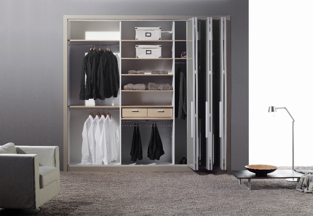 Folding Door Wardrobes Within Preferred Bi Folding Door Wardrobes (View 6 of 15)