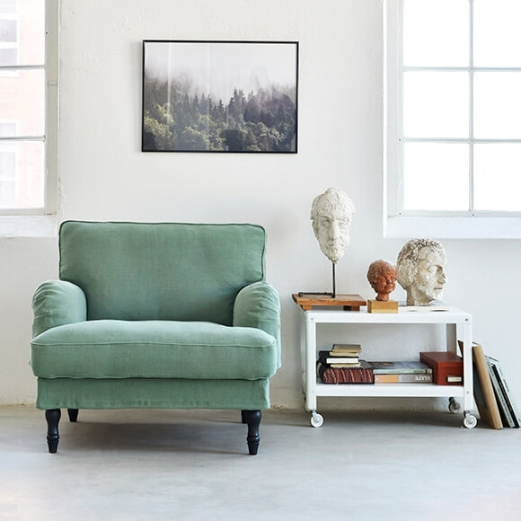 Footstools – Bemz With Most Recently Released Sofa Arm Chairs (View 2 of 10)
