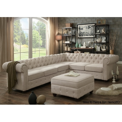 Found It At Joss & Main – Garcia Chesterfield Sectional Sofa For Most Current Joss And Main Sectional Sofas (View 5 of 10)