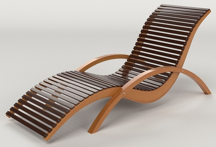 Free Wooden Chaise Lounge Chair Plans (View 3 of 15)