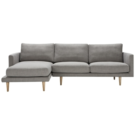 Freedom In Best And Newest Grey Sofas With Chaise (View 8 of 15)