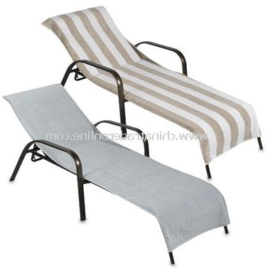 Freedom To For Fashionable Chaise Lounge Towel Covers (View 8 of 15)