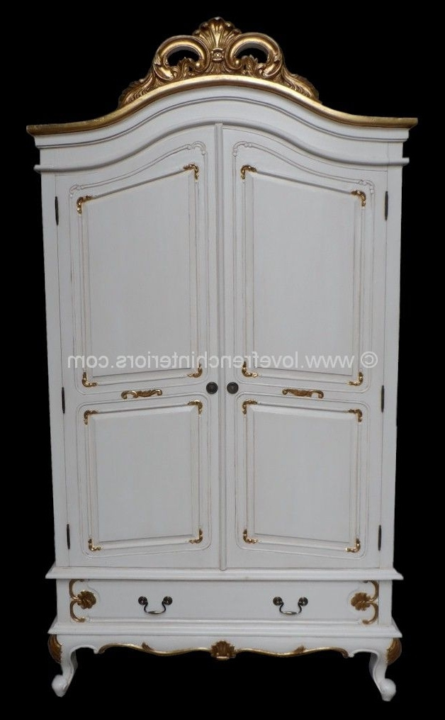 French Armoire Wardrobes With 2017 Louis Bespoke French Armoire Wardrobe (View 7 of 15)