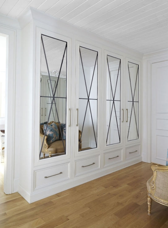 French Built In Wardrobes Inside Most Recent Closet French Doors Design Ideas (View 6 of 15)