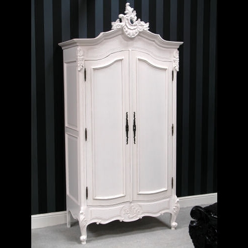 French Rococo Wardrobes : Classics Direct Intended For Most Current White French Style Wardrobes (View 4 of 15)