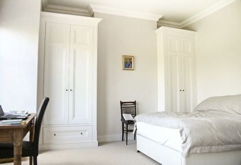 French Style Fitted Wardrobes Inside Popular Gorgeous Fitted Victorian Wardrobes For Bedrooms (View 7 of 15)