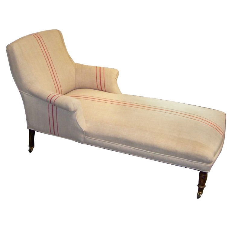 French Upholstered Chaise Longue (View 15 of 15)