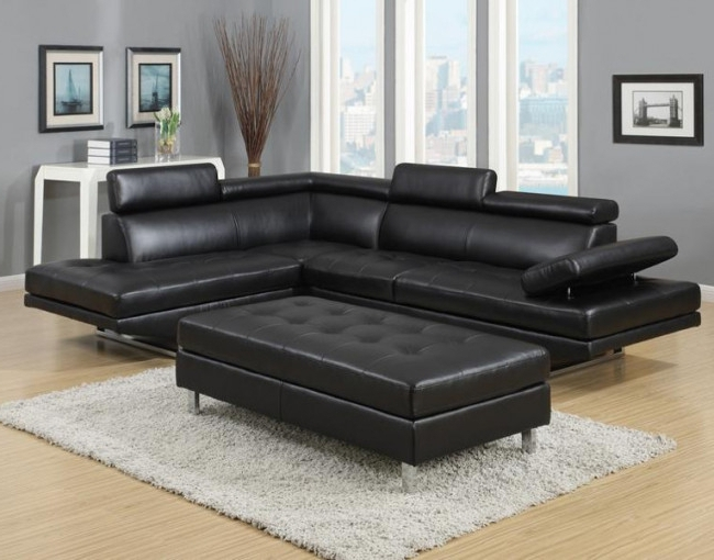 Furniture Distribution Center Inside Black Leather Sectionals With Ottoman (View 9 of 10)