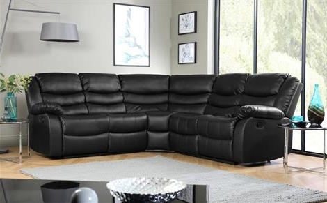 Furniture Regarding Leather Corner Sofas (View 3 of 10)