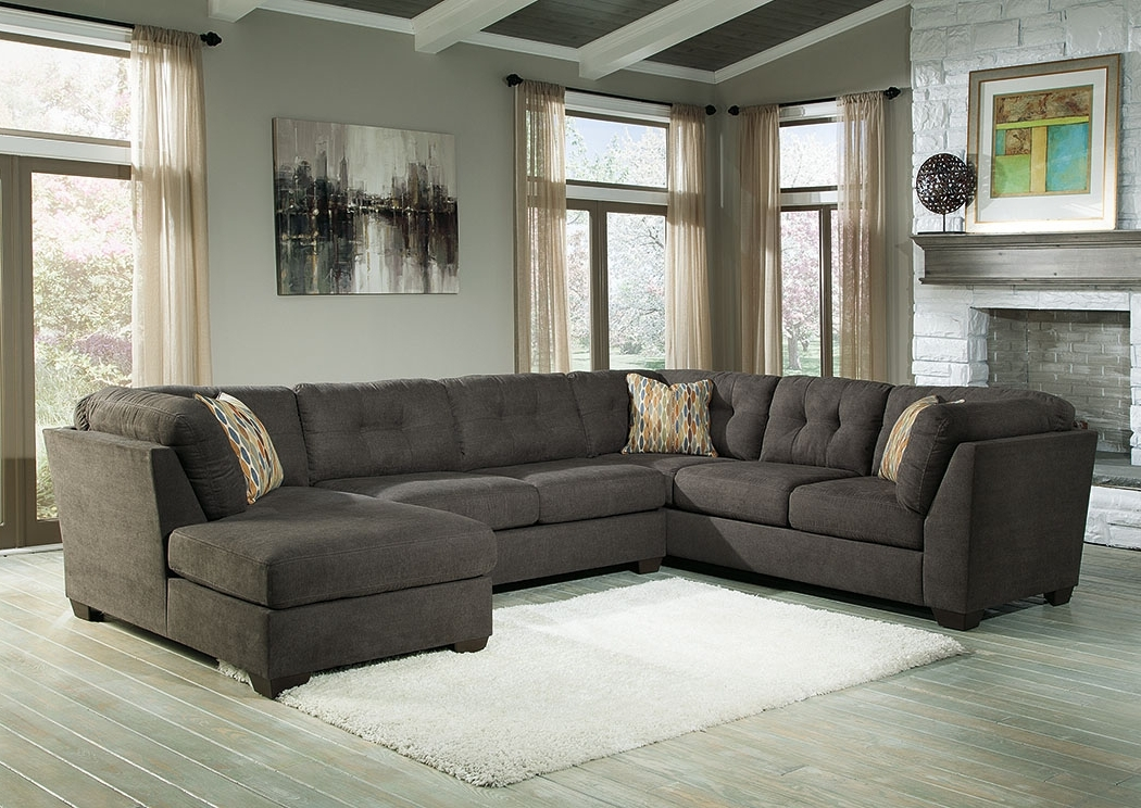 Furniture Stores Austin, Texas Delta For Charcoal Sectionals With Chaise (View 9 of 15)