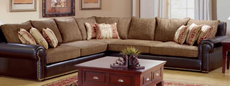 Furniture Within Sectional Sofas With Nailheads (View 6 of 10)