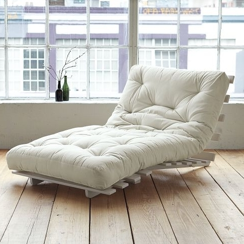 Futon Chaises Within Most Popular Futon Chairs – Foter (View 11 of 15)