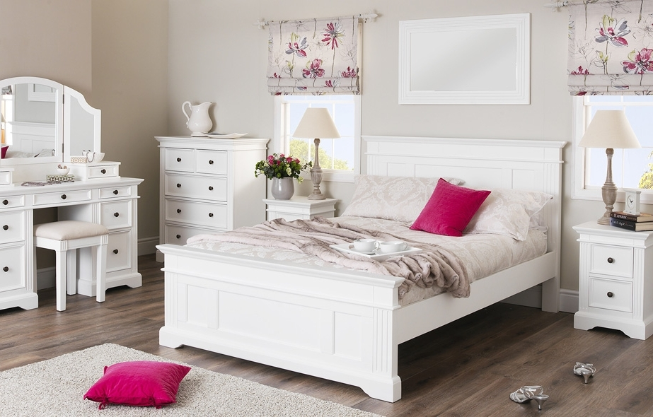 Gainsborough White Bedroom Furniture (View 6 of 15)
