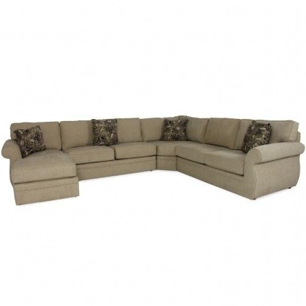 Gallery Furniture Sectional Sofas Pertaining To Most Popular Broyhill Veronica Raf Chaise Sectional – Sofa, Living Room (View 6 of 10)