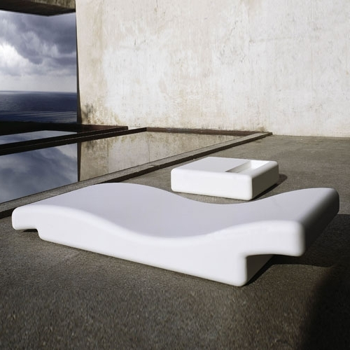 Gandia Blasco Tumbona 356 Modern Outdoor Chaise Lounge Chair For Most Current Pool Chaise Lounges (View 5 of 15)