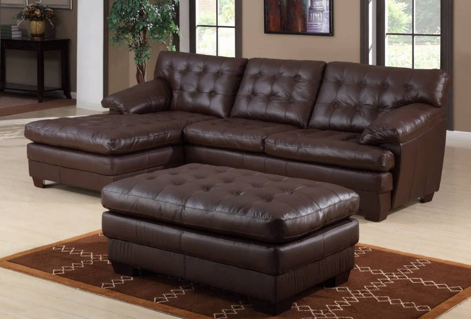 Genuine Leather Sectionals With Chaise With Well Liked Sofa : Chaise Sofa Sectional Sofas With Recliners L Shaped Leather (Gallery 14 of 15)