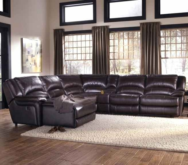 Gilbert Az Sectional Sofas Intended For Most Popular Norwood Furniture Gilbert Reclining Leather Sectional Sofa Norwood (View 3 of 10)