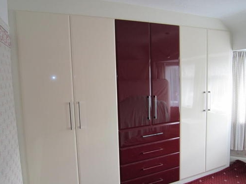 Gloss Wardrobes In Well Liked High Gloss Wardrobe At Rs 1200 /square Feet (View 5 of 15)