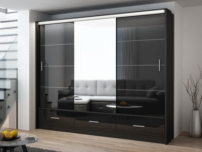 Glossy Wardrobes Intended For 2018 Birmingham Furniture – Cjcfurniture.co (View 8 of 15)