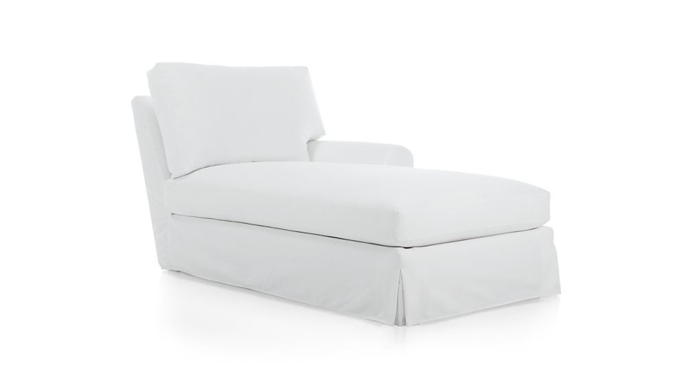 Gorgeous Chaise Lounge Slipcovers New Ikea Ektorp Free Standing With Regard To Popular Chaise Slipcovers (Gallery 13 of 15)