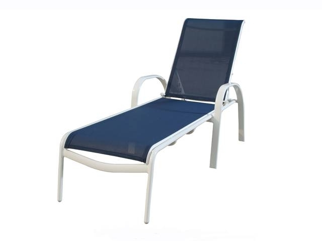 Gorgeous Mesh Chaise Lounge Chairs Sling Chaise Lounge Danyhoc Inside Well Known Aluminum Chaise Lounge Outdoor Chairs (Gallery 6 of 15)