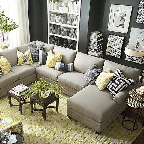 Gray U Shaped Sectionals Regarding Widely Used Hgtv Home Design Studio Cu (View 5 of 10)
