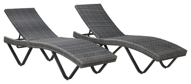 Great Gray Outdoor Chaise Lounge Cane Chaise Lounge Nz Chaise Throughout Best And Newest Grey Wicker Chaise Lounge Chairs (View 3 of 15)
