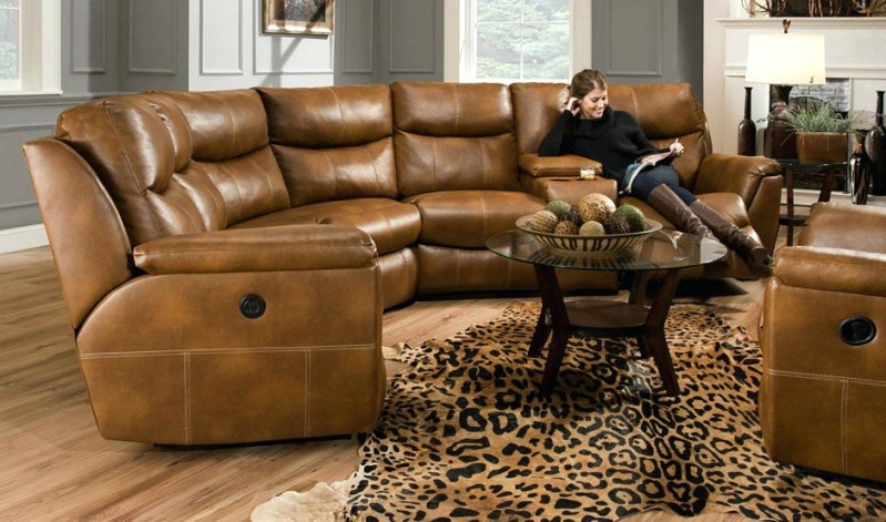 Photos of Leather Motion Sectional Sofas Showing 9 of 10 Photos