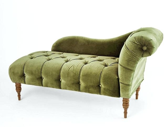Green Chaise Lounge Chairs Within Most Popular Green Velvet Chaise Lounge – Brunoluciano (View 10 of 15)