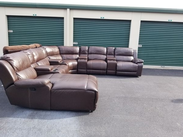 Greenville Nc Sectional Sofas Pertaining To Latest Leather Recliner Sectional Couch (Furniture) In Greenville, Nc (View 5 of 10)