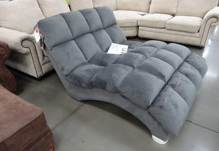 Grey Chaise Lounge Chair Slipcover (Gallery 11 of 15)