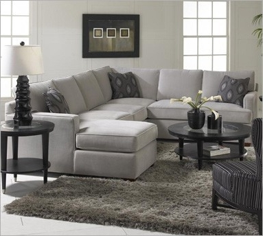 Grey Sectional, Gray And (View 4 of 10)