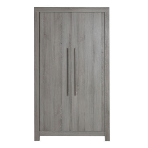 Grey Wardrobes Inside Well Known Europe Baby Vicenza Grey Wardrobe – Peppermint London (View 5 of 15)