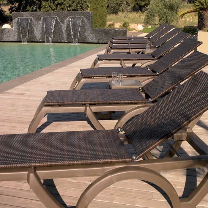 Grosfillex Chaise Lounge Chairs Intended For Newest Commercial Outdoor Chaise Lounge Chairs (Gallery 1 of 15)