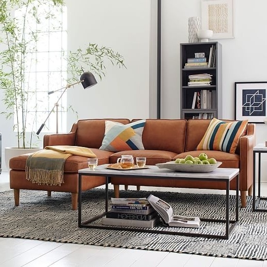Hamilton Sectional Sofas With Regard To Well Known Hamilton 2 Piece Leather Chaise Sectional (View 6 of 10)