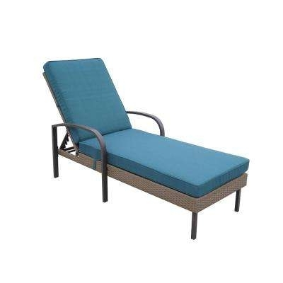 Hampton Bay – Brown – Outdoor Chaise Lounges – Patio Chairs – The Inside Well Known Hampton Bay Chaise Lounge Chairs (View 7 of 15)