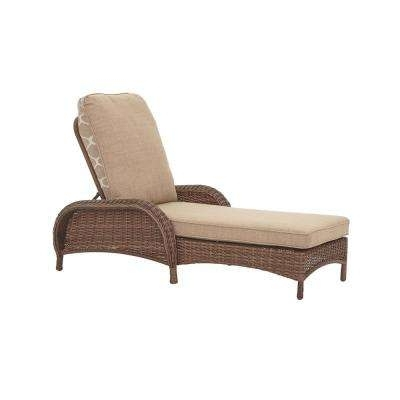 Hampton Bay – Outdoor Chaise Lounges – Patio Chairs – The Home Depot Regarding Latest Hampton Bay Chaise Lounge Chairs (View 8 of 15)