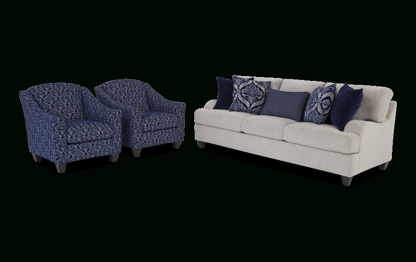 Hamptons Sofa And Accent Chair Set (Gallery 6 of 10)