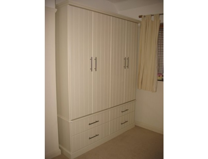 Hand Made Bespoke Personalised Childrens 4 Door Wardrobes Made In Regarding Current Wardrobes 4 Doors (View 4 of 15)