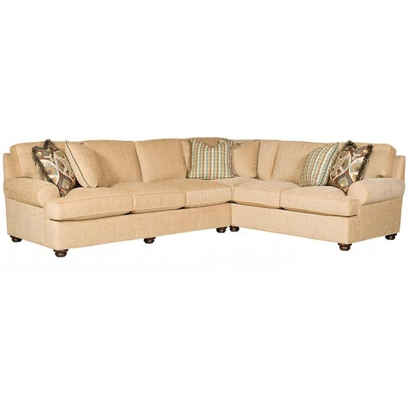 Hickory Nc Sectional Sofas With Fashionable Sectional 6062 Sbt F Henson King Hickory Outlet Discount Furniture (View 4 of 10)