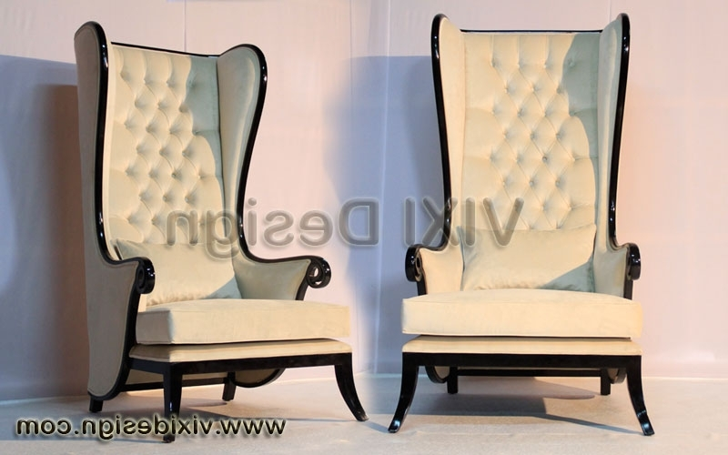 High Back Chair Executive Lounge (Gallery 7 of 10)