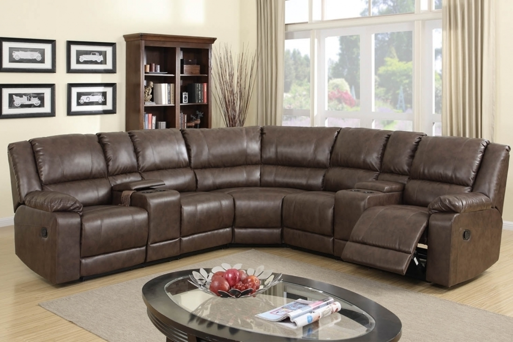 High End Leather Sectional Sofas Intended For Popular High Back Sectional Sofas – It Is Better To Opt For Leather Or Fabric? (Gallery 6 of 10)