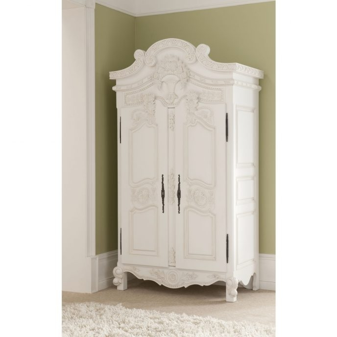 Home Design : Fabulous French Shabby Chic Wardrobes Sophia In Famous Sophia Wardrobes (View 5 of 15)