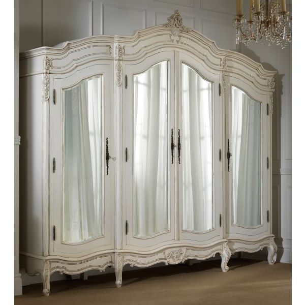 Home Furniture Intended For Popular French Style Armoires Wardrobes (View 10 of 15)