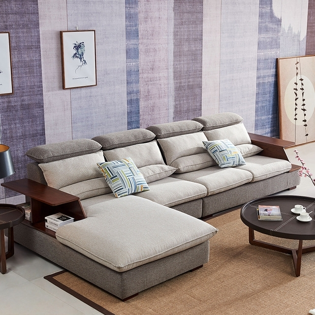 Home Furniture Sectional Sofas With Recent 8812 Fabric Sofa Set Living Room Sofa Furniture Corner Sofa Sets (Gallery 5 of 10)