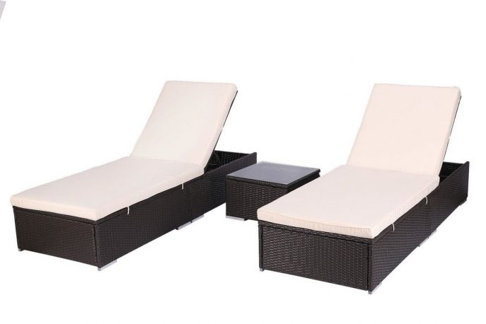 Hotel Chaise Lounge Chairs Regarding Newest Outdoor : Walmart Lounge Chairs Indoor Commercial Pool Lounge (View 14 of 15)