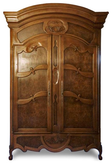 How To Purchase The Best French Armoire Wardrobe – Elites Home Decor With Regard To Trendy French Armoires And Wardrobes (View 10 of 15)