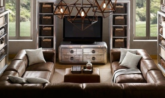 Huge U Shaped Sectionals Inside Preferred Shaped Sectionals (Gallery 2 of 10)